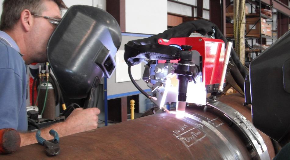 slug catcher headers welding
