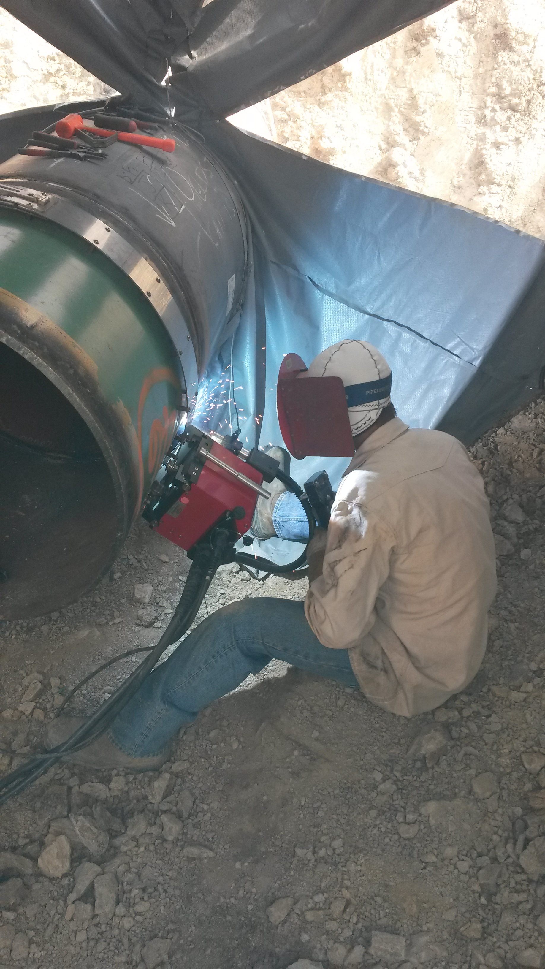 field fabrication pipe welding