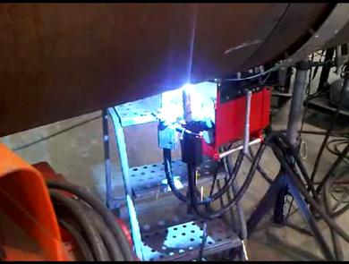 Dual torch welding