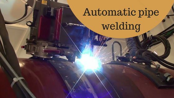 automatic pipe welding